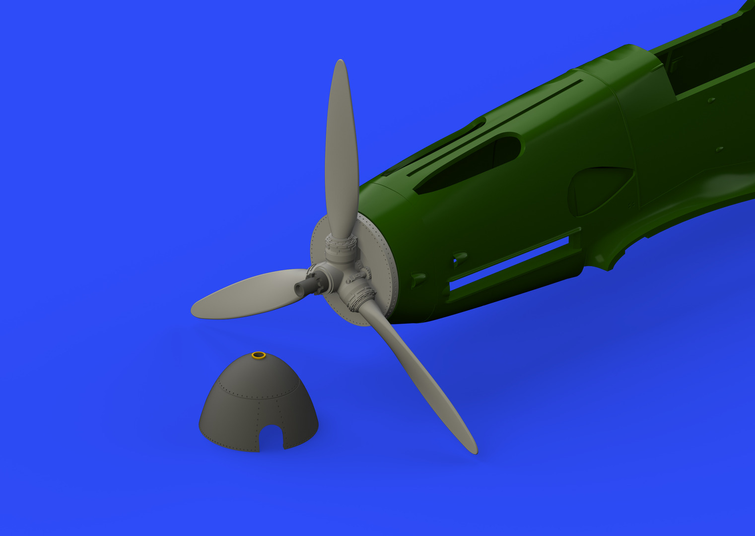 1/48 Bf 109F propeller EARLY (Eduard)