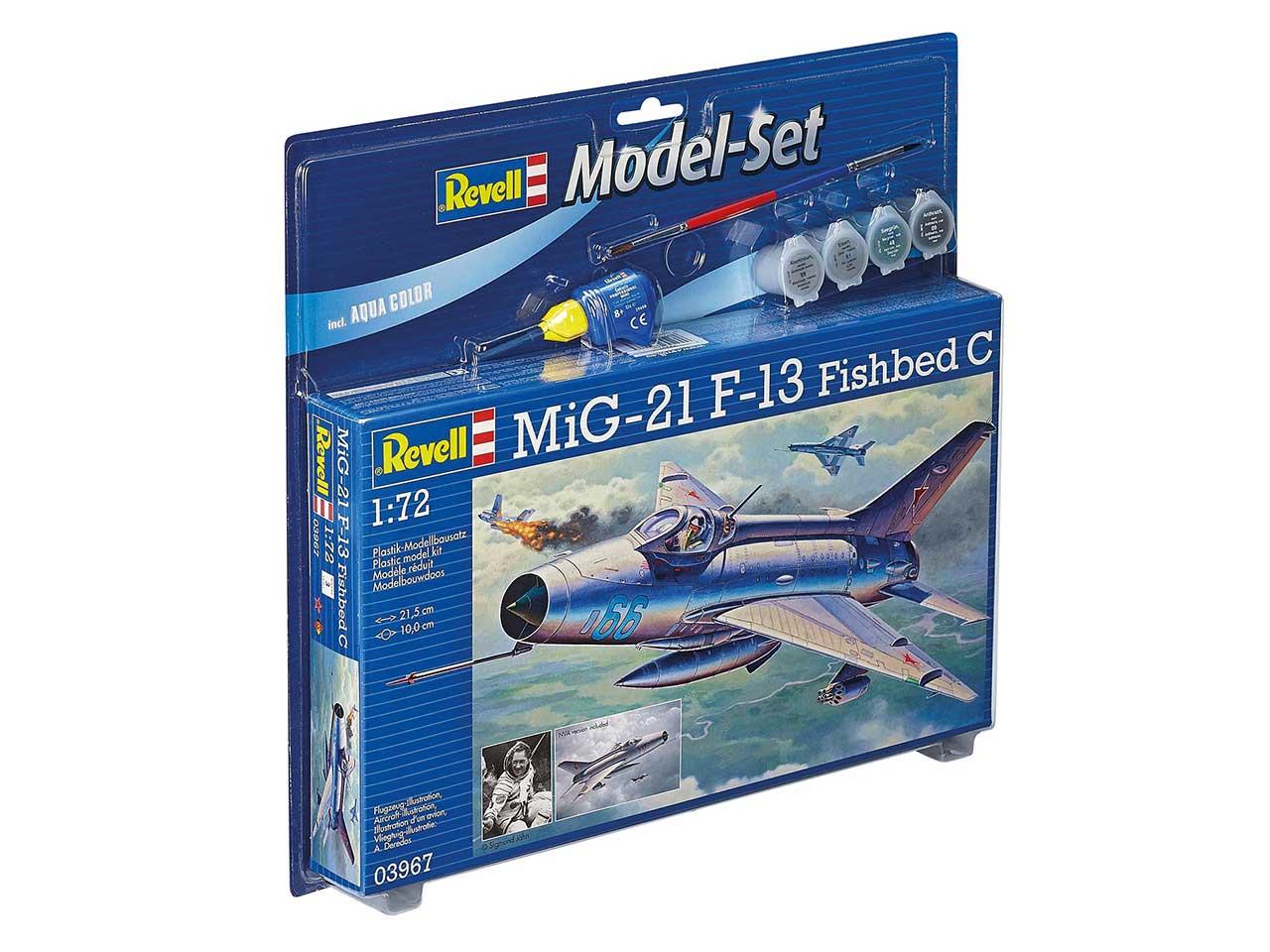 ModelSet letadlo 63967 - MiG-21 F-13 Fishbed C (1:72)
