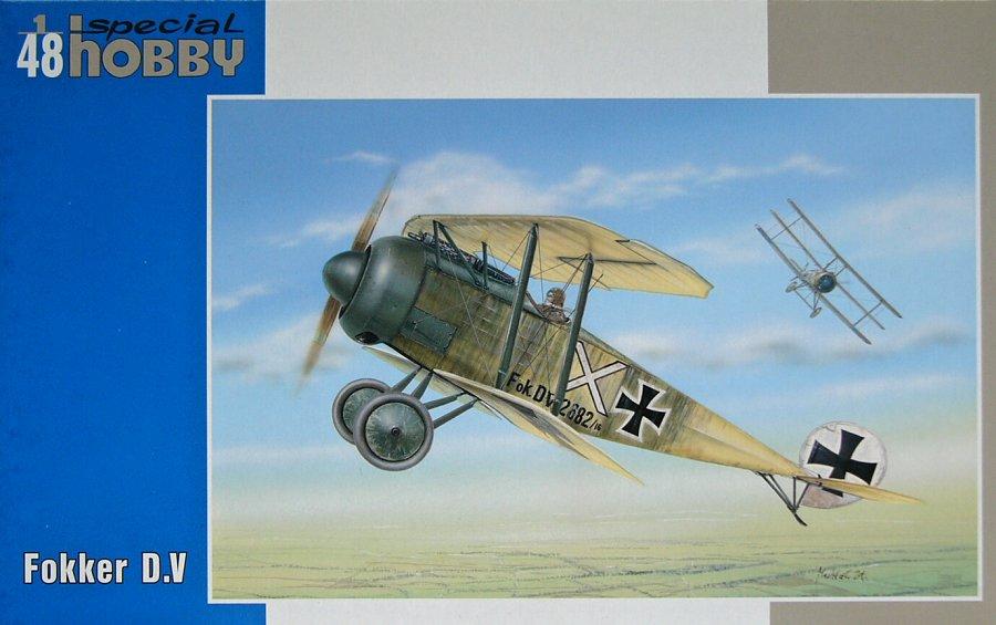 1/48 Fokker D.V (3x camo versions)