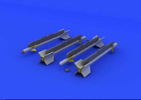 R-3S rakety pro MiG-21 1/72