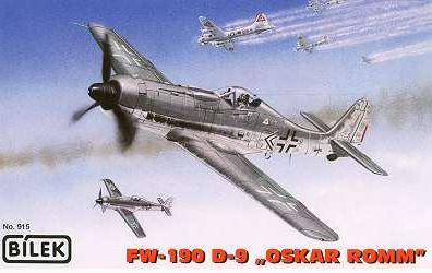 """1/72 Fw-190 D-9 """"Oskar Romm"""""""