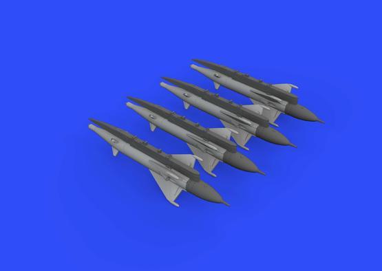 RS-2US střely pro MiG-21 1/72