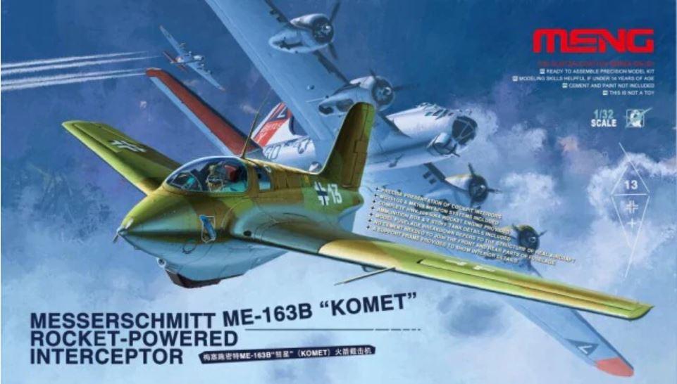 """1/32 Messerschmitt Me-163B """"Komet"""" Rocket-Powered Interceptor"""