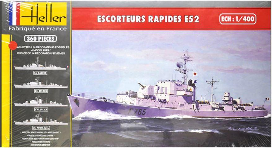 1/400 Escorteurs Rapides E52