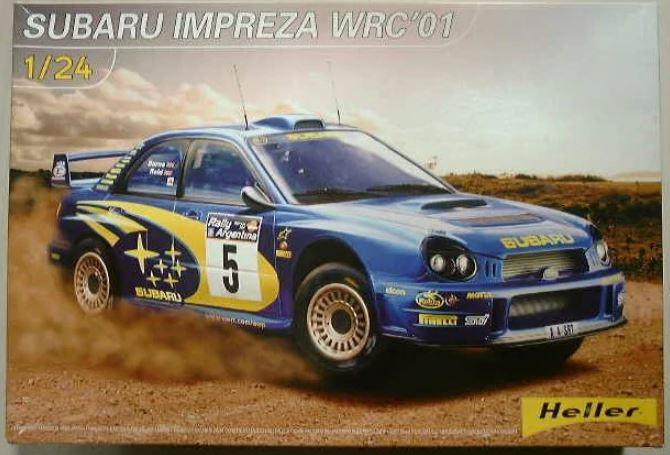 1/24 Subaru Impreza WRC '01