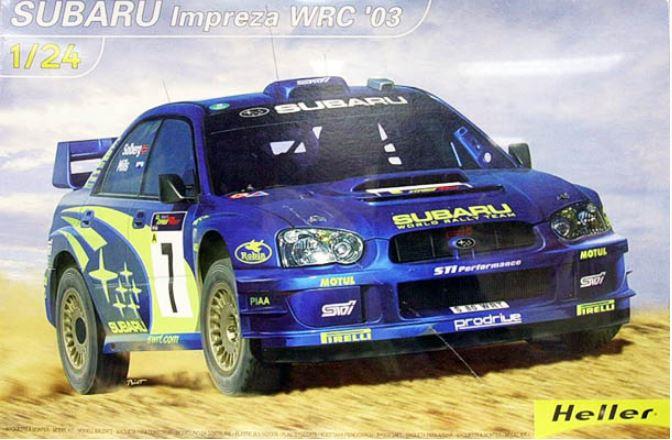 1/24 Subaru Impreza WRC '03