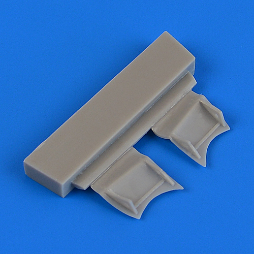 1/72 F4F-4 Wildcat undercarriage covers (AIRFIX)