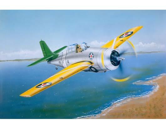 "1/32 Grumman F4F- 3 ""Wildcat""(EARLY)"