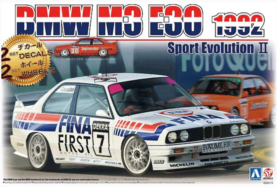 1/24 1992 BMW M3 E30 Sport Evolution II