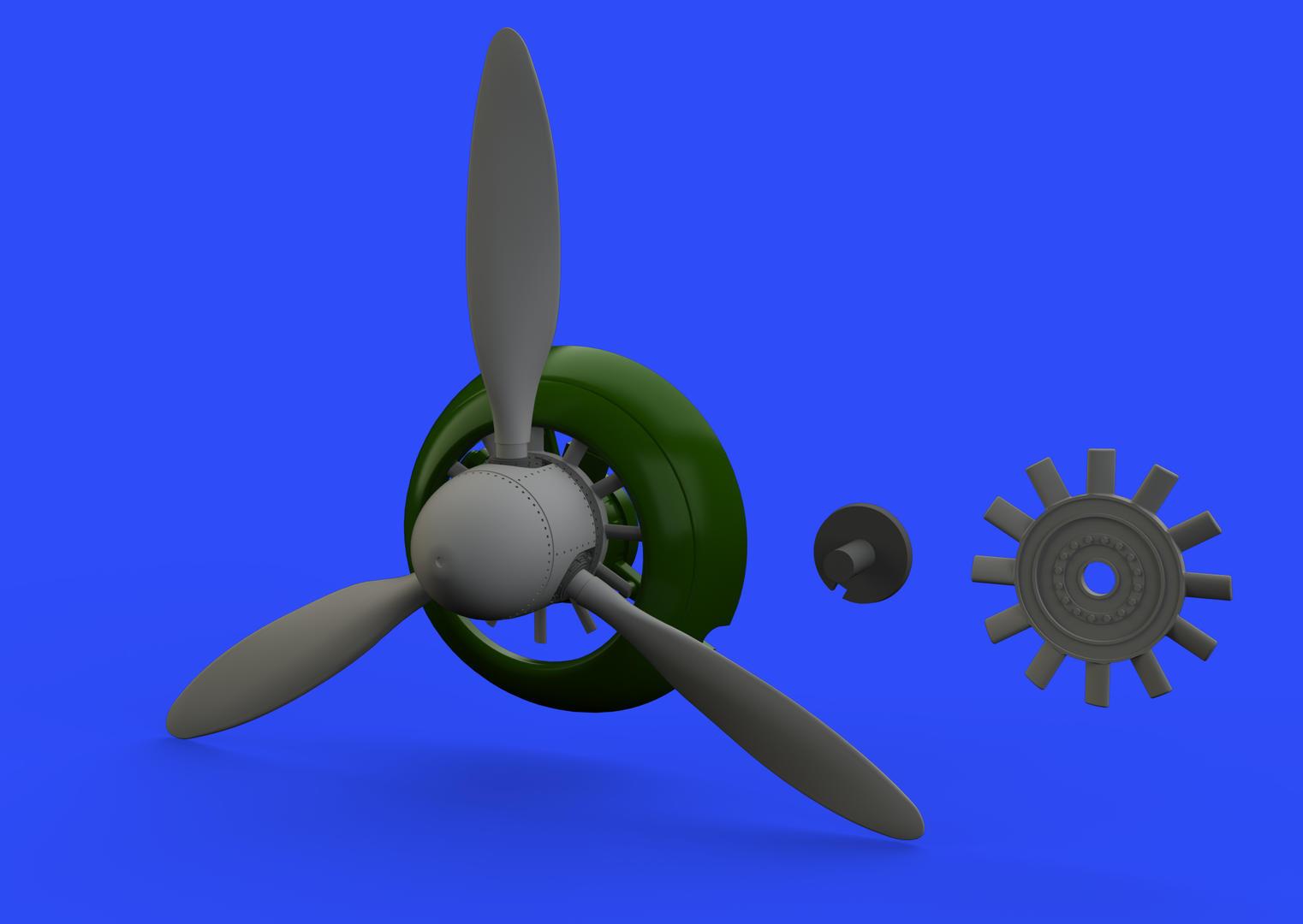 1/48 Fw 190A propeller BRASSIN (EDU)