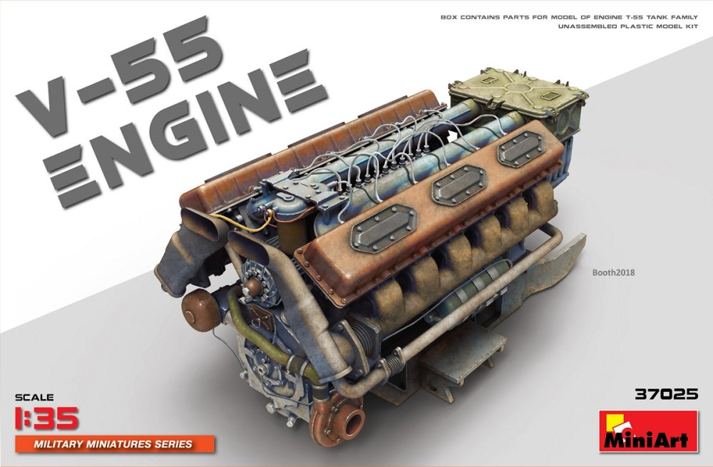 Fotografie 1/35 V-55 Engine (plastic set)