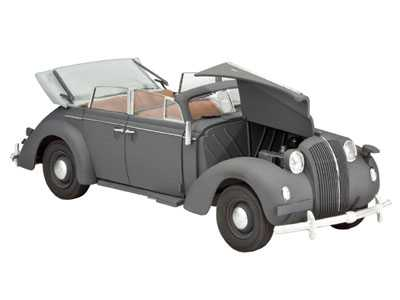"Plastic ModelKit military 03099 - German Staff Car ""Admiral Cabriolet"" (1:35)"