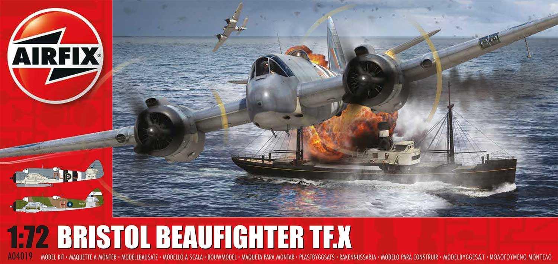 Classic Kit letadlo A04019 - Bristol Beaufighter Mk.X (1:72) - nová forma
