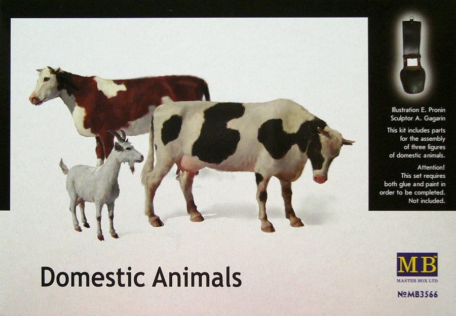 1/35 Domestic Animals (3 fig.)