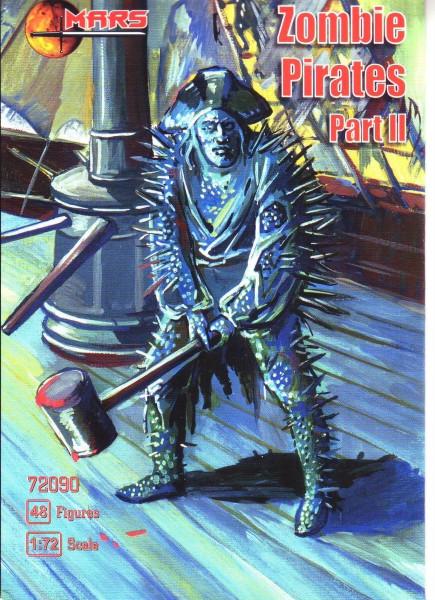 1/72 Zomby Pirates, part II