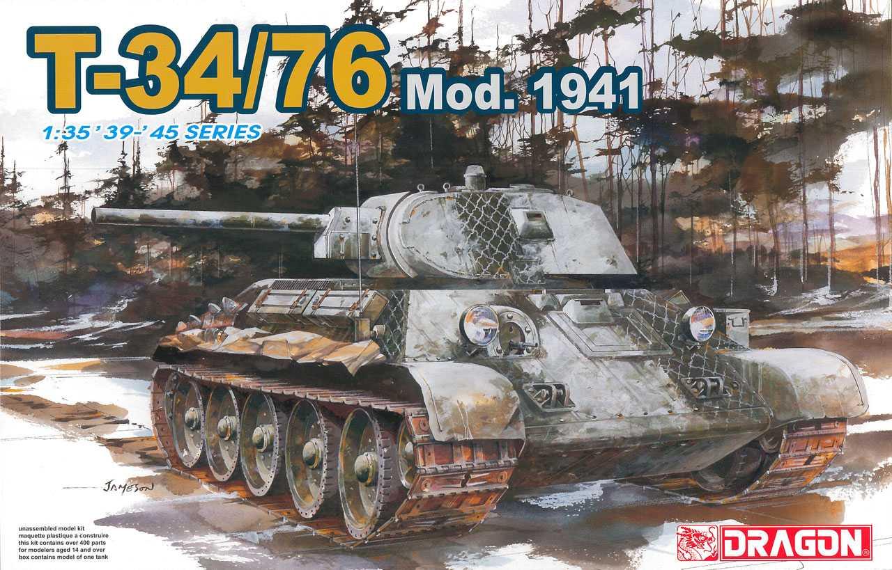 Model Kit tank 6205 - T-34/76 Mod.1941 (1:35)