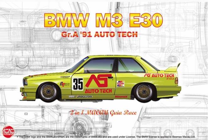 1/24 Racing Series BMW M3 E30 Group A 1991 Auto Tech