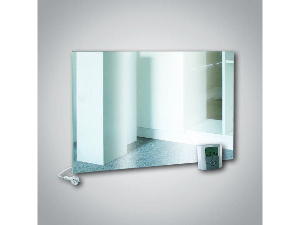 Sálavý skleněný panel GR+ 500 zrcadlo