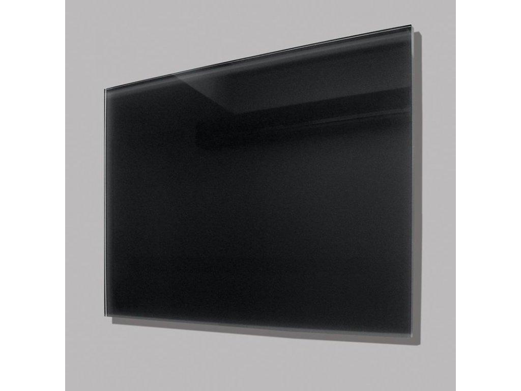 Sálavý skleněný panel GR 500 černý