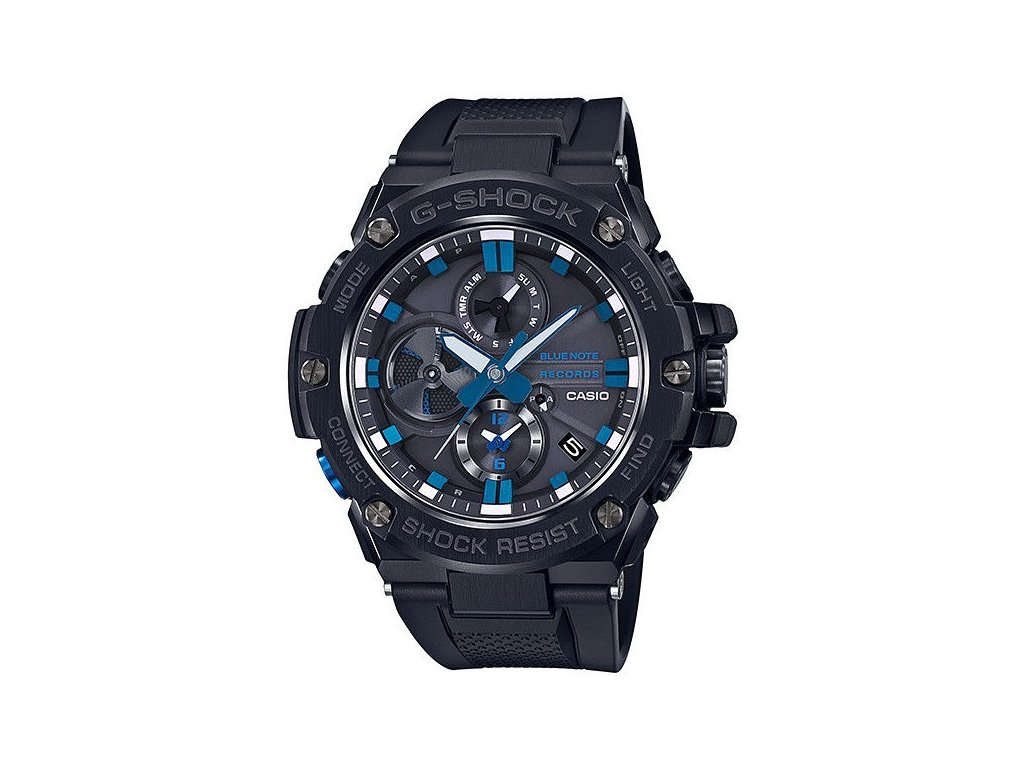 casio g shock g steel gst b100bnr 1aer blue note records 181098 197383