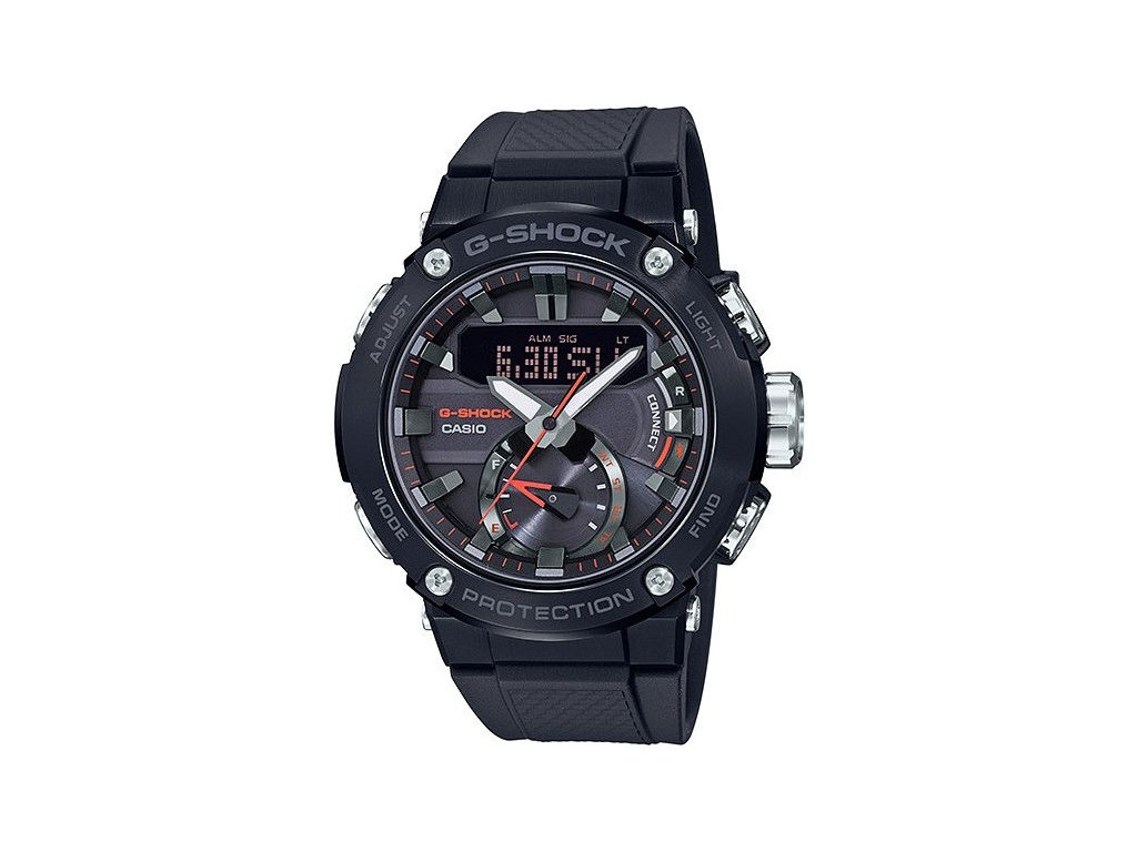 casio g shock g steel gst b200b 1aer carbon core guard 183994 203429