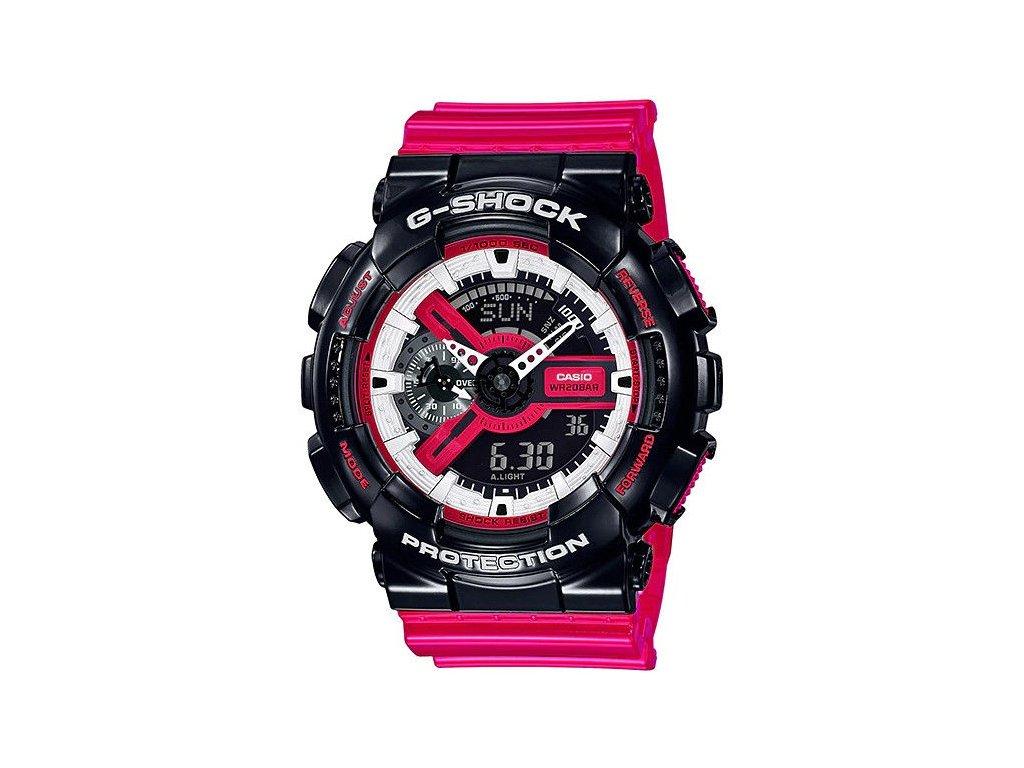 casio g shock original ga 110rb 1aer red black and white series 184433 204182