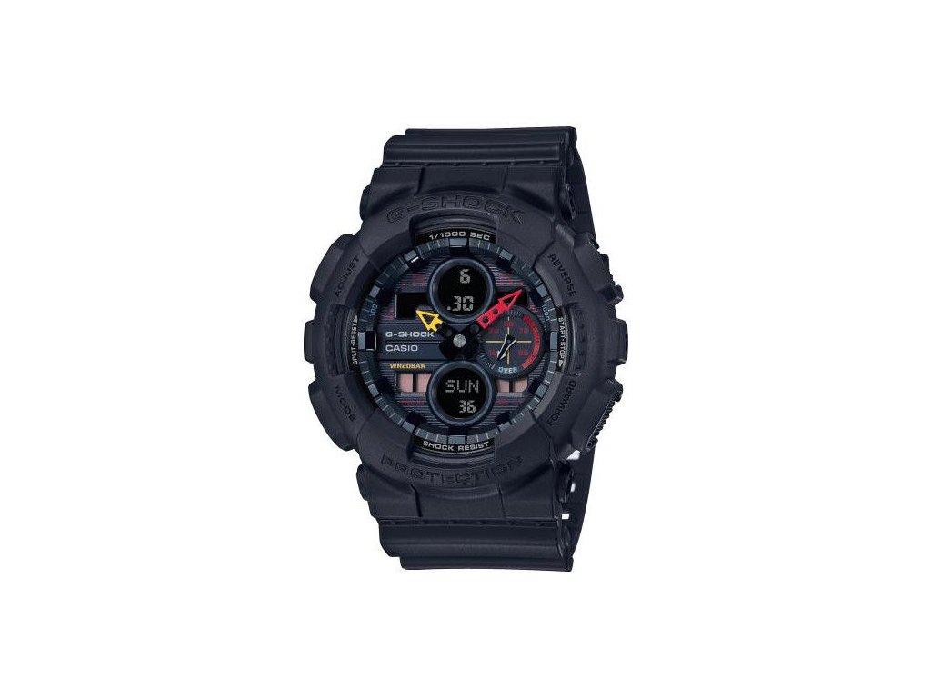 casio g shock original ga 140bmc 1aer black x neon neo tokyo series 183974 203585
