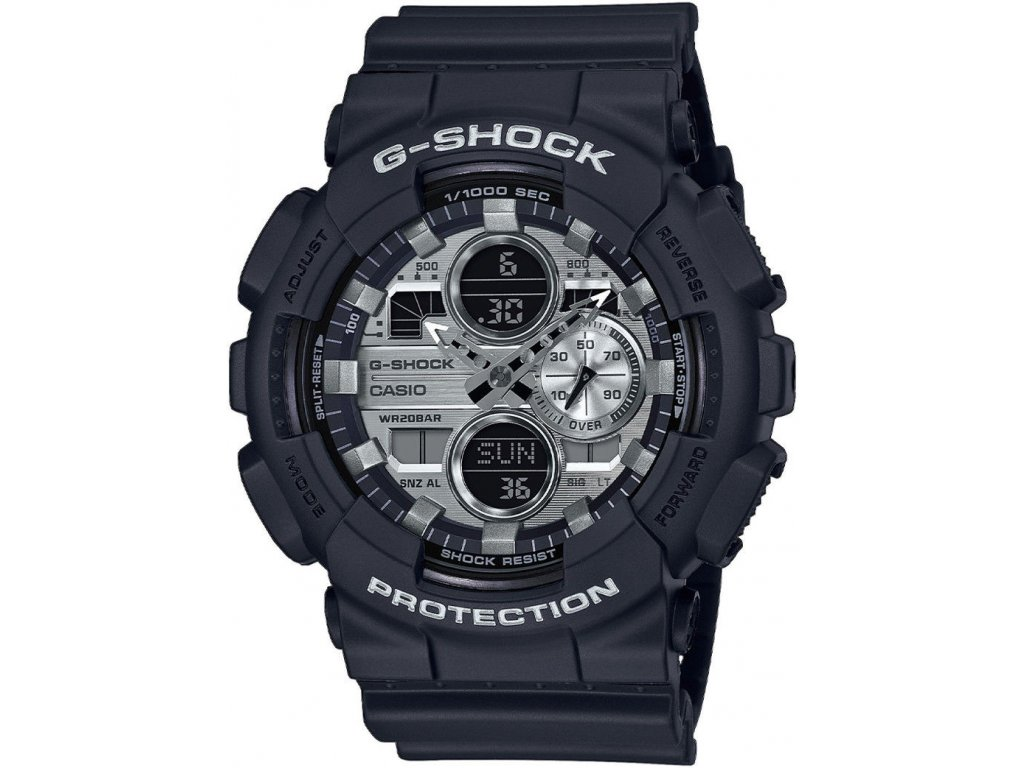casio g shock original ga 140gm 1a1er metallic dial series 188876 214787