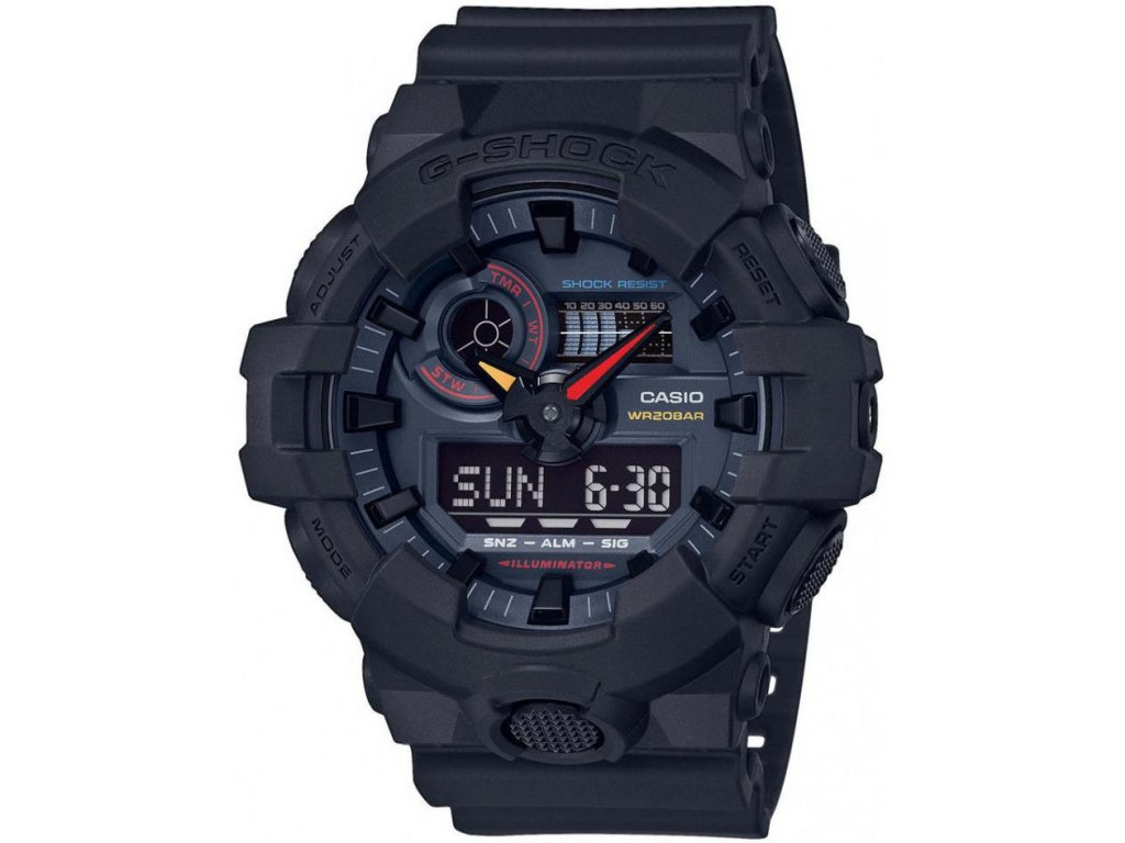 casio g shock original ga 700bmc 1aer black x neon neo tokyo series 183933 204233