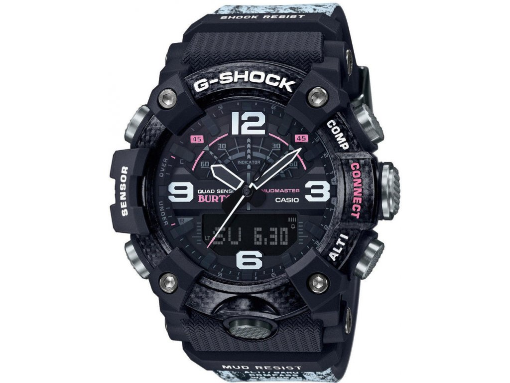 casio g shock mudmaster gg b100btn 1aer carbon core guard burton limited edition 188877 216187