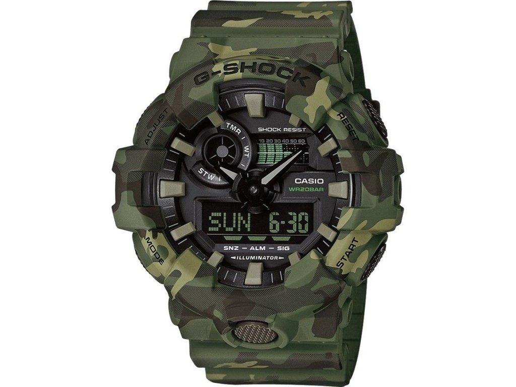 casio g shock original ga 700cm 3aer camouflage series 160629 182681