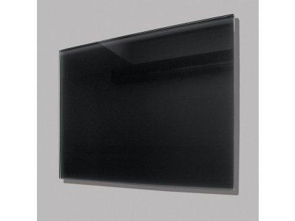 Sálavý skleněný panel GR 300 černý