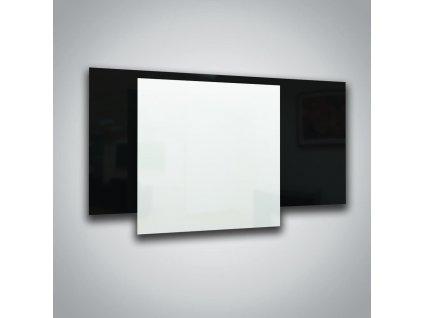 Sálavý skleněný panel ECOSUN 300 GS White