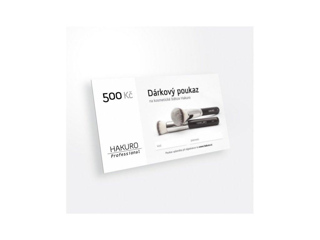 darkovy poukaz na 500 kc