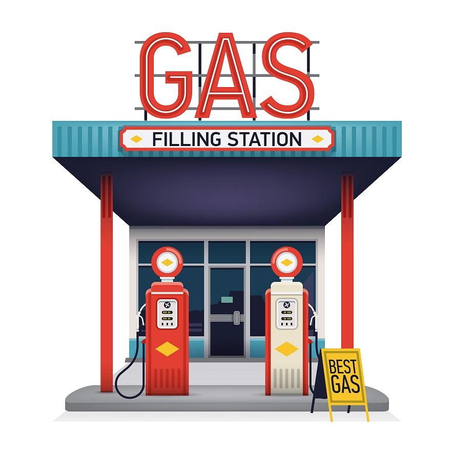 Benzínové stanice