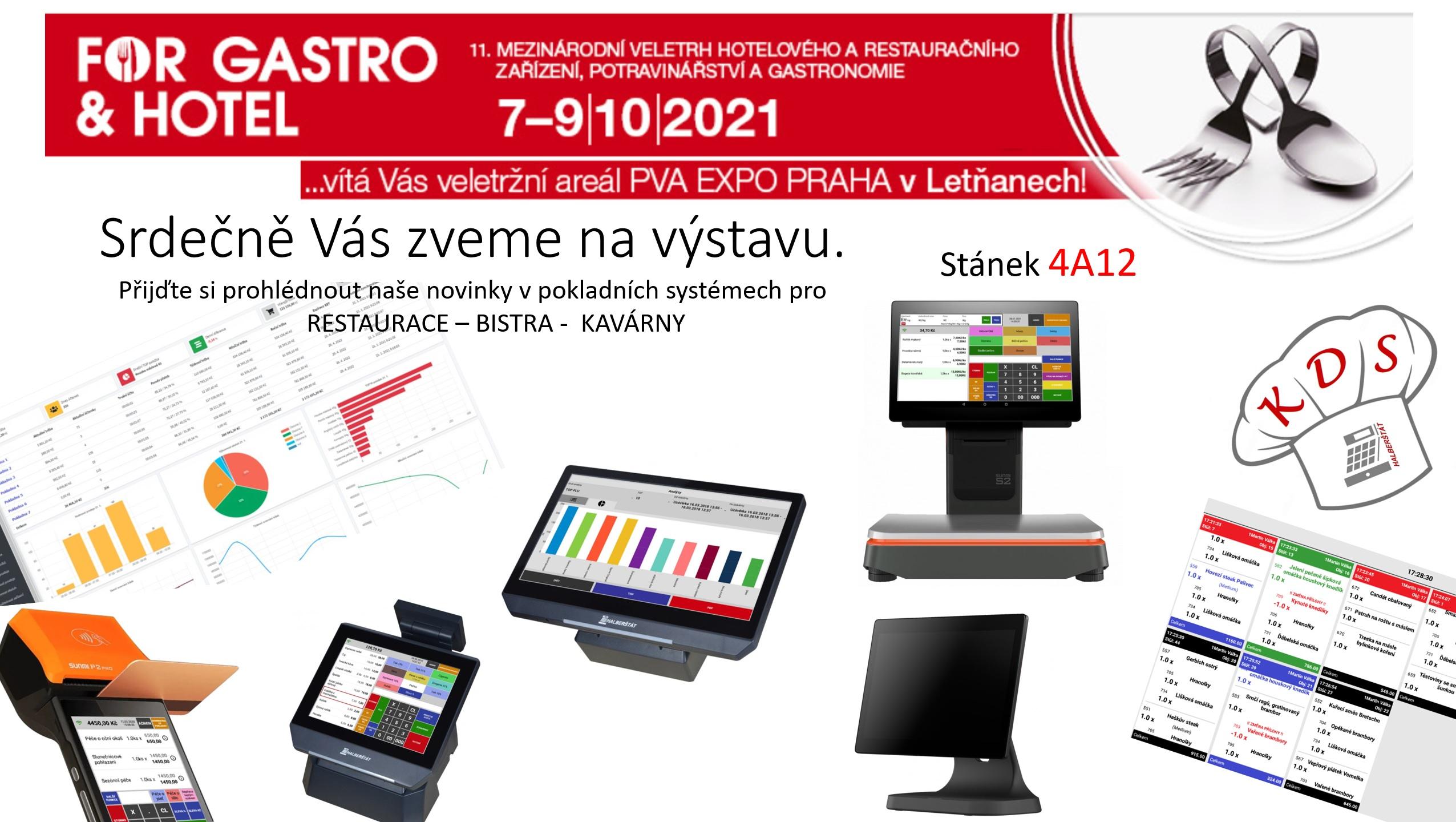 Výstava FOR GASTRO - 2021