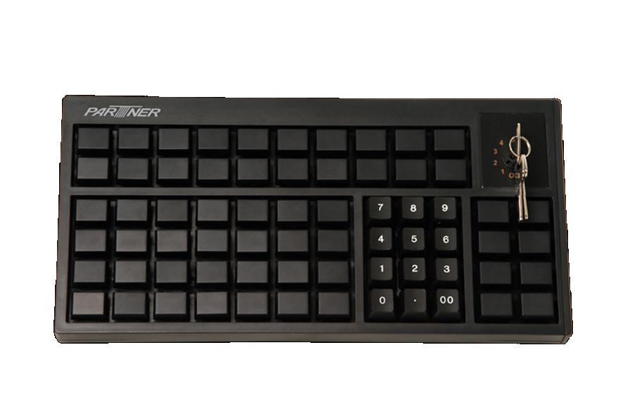 PARTNER programovatelné klávesnice