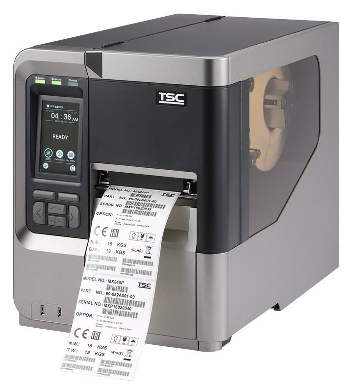 TCS tiskárny průmyslové