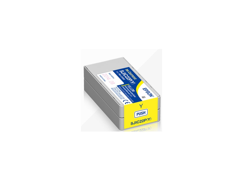 INK CARTRIDGE FOR COLORWORKS C3500 (YELLOW)