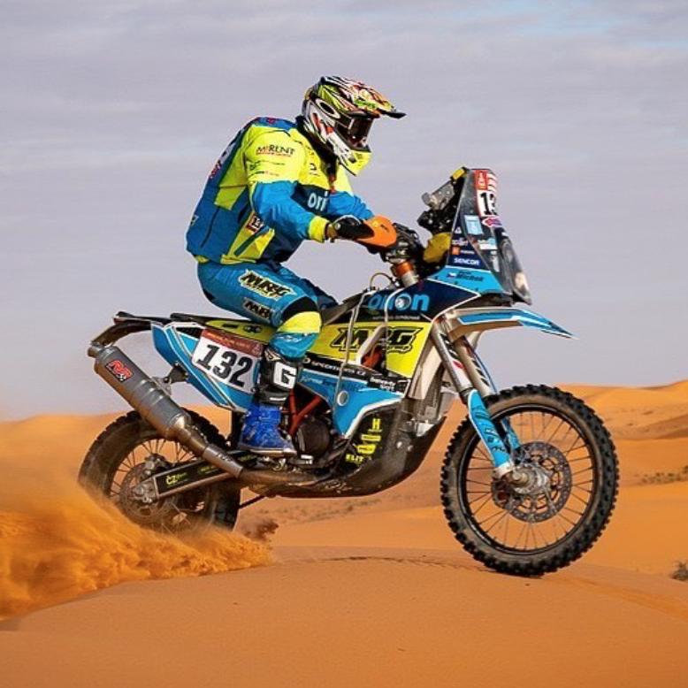 Podporujeme - Spolupráce Sponseru a M. Michka na letošním Dakaru