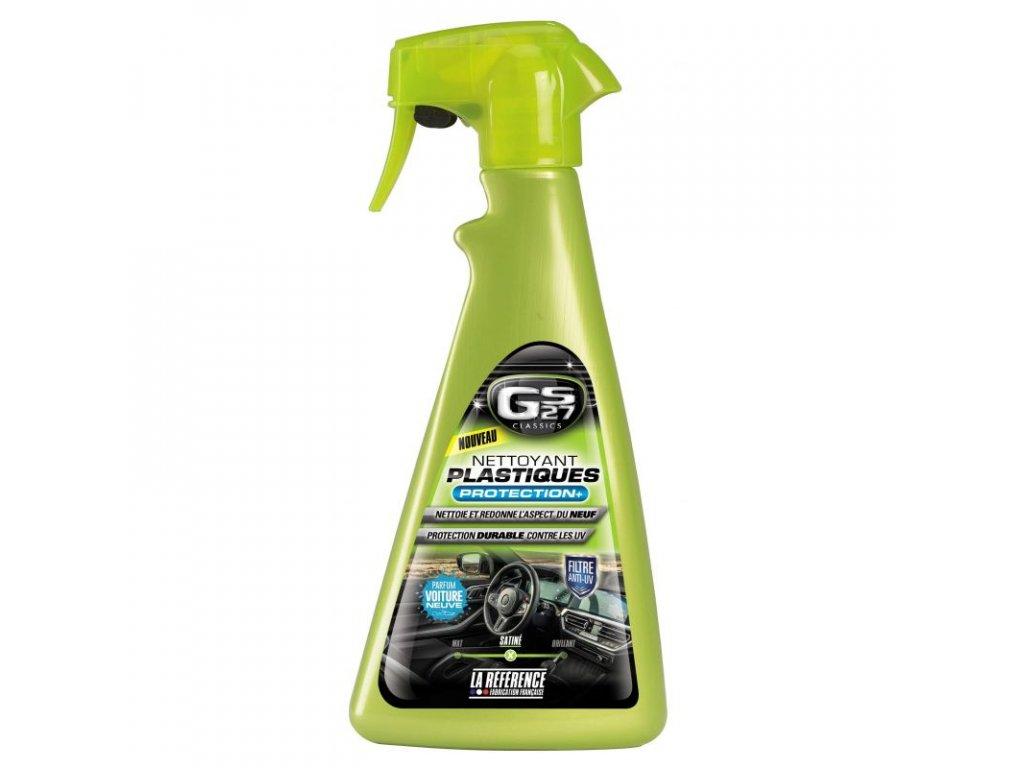 classics nettoyant plastique protection 500ml