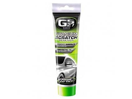 GS27 TITANIUM SCRATCH REMOVER 150 g - Pasta s titanem na odstranění škrábanců