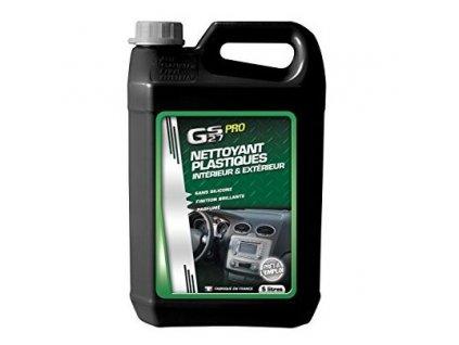 GS27  PLASTIC DETAILER PRO 5L Silicon Free - Čistič a renovátor plastů