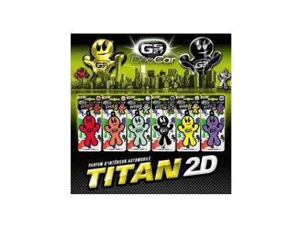 GS27 DEOCAR TITAN 2D (Vůně Passion fruit)