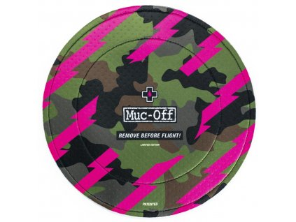 MUC-OFF DISC BRAKE COVERS Camo - Ochranný kryt brzdové soustavy