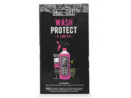 MUC-OFF WASH, PROTECT & LUBE DRY KIT - Základní sada pro mytí, ochranu a lubrikaci jízdních kol