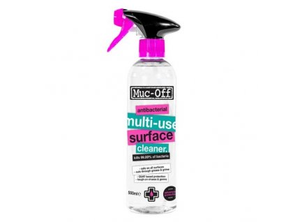 9752 muc off antibacterial all multi use surface cleaner 500ml