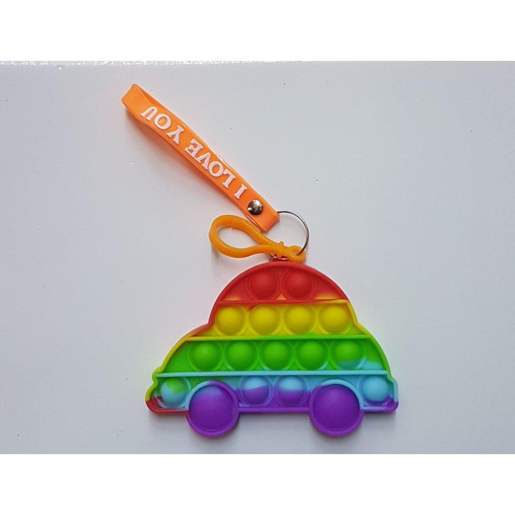 antistresova hracka klucenka auto