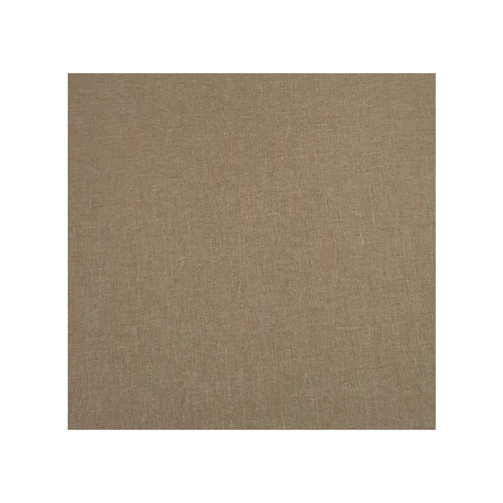 Sedák ovál jednofarebný 40x40cm, 8993/BIE - Biela káva