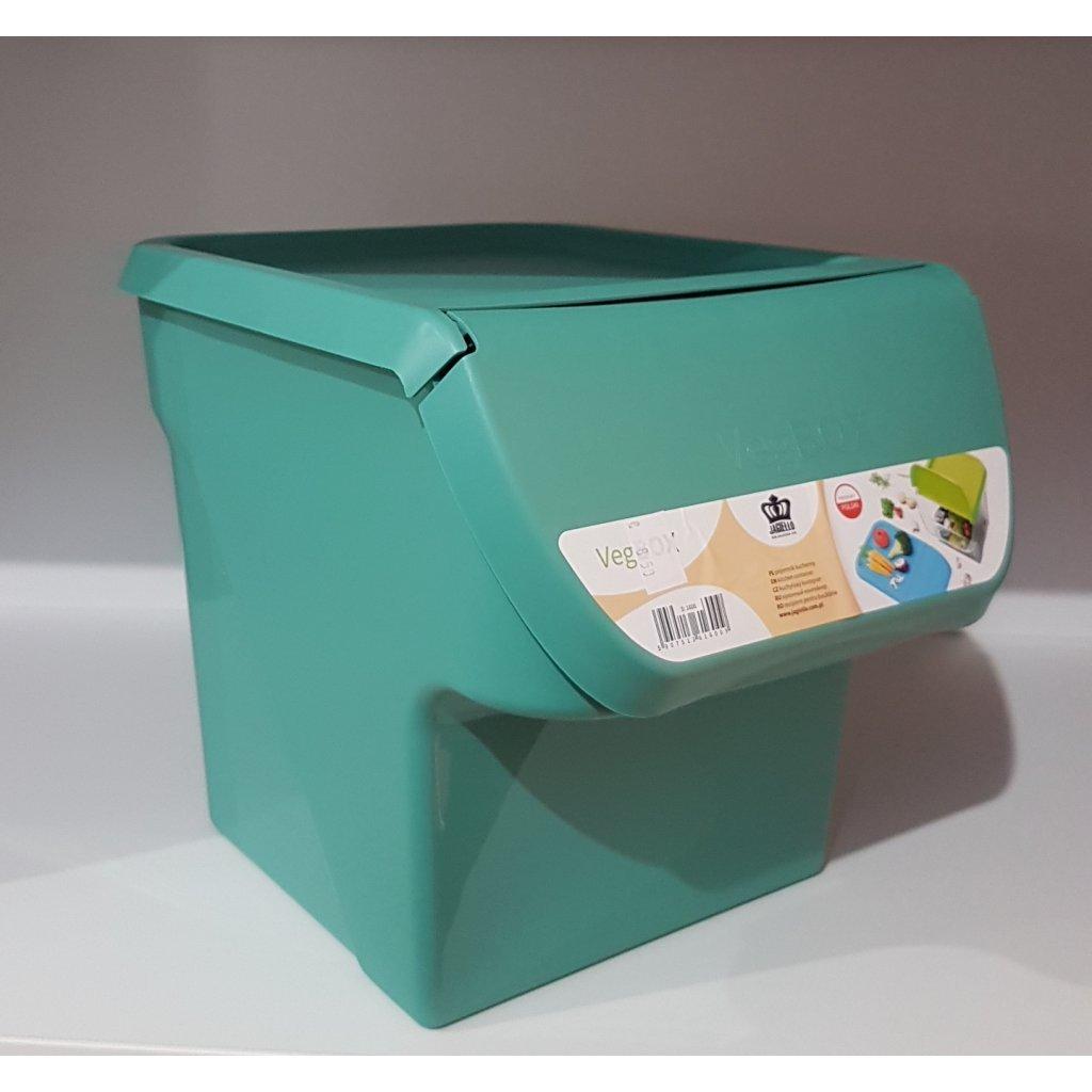 Plastový box na zeleninu, 11600/ZEL - Zelená